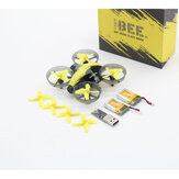BeeRotor TinyBee 78mm 5.8G 40CH 600TVL Micro FPV Coreless RC Drone Quadcopter Due versioni Batterie