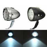 Retro Vintage E-bike Bike Front Light LED Koplamp hoofd Fog Lamp met beugel