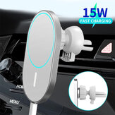 Bakeey 15W Car Magsafe Wireless شاحن Airvent Mount Magnet Adsorbable هاتف Car Holder for iphone 12 12 Pro Max 12 Mini Fast شحن