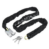 Metal Heavy Chain serratura Sicurezza Moto Bike Scooter Sicurezza Anti Lucchetto antifurto
