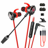 PLEXTONE RX3 3.5mm Wired Gaming Earphone With Microphone In Ear Bass Headphone Earbuds Noise Reduction Headset With Microphone