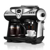Donlim DL-KF7001 Máquina de café expresso Consumidor e máquina de café automática a leite automática a vapor