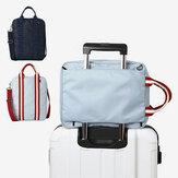 Honana HN-TB10 Wodoodporna torba podróżna do przechowywania bagażu Wielofunkcyjna duża torba podróżna Unisex Business Bagbag Organizer na ubrania