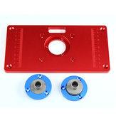 Đa chức năng hợp kim nhôm đỏ Bộ định tuyến bảng chèn tấm cho máy khắc gỗ