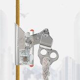 XINDA Aerial Work Safety Rope Self-locking Device Anti-dropping Climbing Mountain Quick Lock Rope Gear Grab Protect Installation Climbing Carabiner