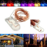 2M Водонепроницаемы LED Батарея Mini LED Медь Провод Fairy String Light HoliDay Light Party Christmas
