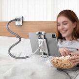 Flexibilní držák SAIJI Držák tabletu / telefonu Líný držák Husí krk Držák s dlouhým ramenem na stůl Stolní kancelářský kuchyňský držák na stojan Kompatibilní s iPad Mini Air Switch Galaxy Tab Další zařízení 4,7-10,5 palce