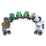 Wind-up Dinosaur Cars Zabawki Animal Model Novelities Toys Funny Gift Collection