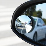 RUNDONG Car Mirror Blind Spot Mirror Wide Angle Round Convex 360 Degree for Parking Rear View Mrror