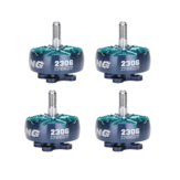 4X iFlight XING2 2306 1755KV 6S Brushless Motor for 5 Inch 5.1 Inch 6 Inch RC Drone FPV Racing