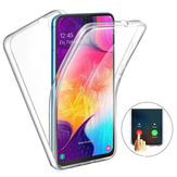 Full Body Clear Touch Screen Protective Case For Samsung Galaxy A50 2019