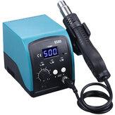 858D 750W Hot Air Heater LED Digital Lead-free BGA Rework Soldering Station SMT Desoldering Station 220V/110V