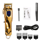 KEMEI-2010 All Metal Retro Oil Head Electric Cordless Trimmer Wireless Portable Hair Clipper