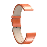 Newwear 20mm universele lederen horlogeband voor smart watch Q9 Q8 Q3 Q3 Plus