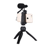 COMICA CVM-VM10-K2 Smartphone Video Rig com Cardioid Directional Video Microphone para iPhone 5 5C 5S 6 6S 7 8