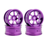 2pcs Hub Rc Car Parts Aluminum Wheel 4pc D:52mm W:26mm For HSP HPI 1/10 On-Road Drift 107P