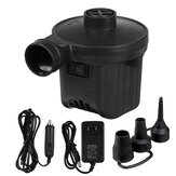 12V DC Electric Air Pump Air Mattress Pump Quick-Fill Inflator Deflator Air Blower For Inflatable Couch Pool Floats Bed Boat Toy