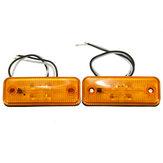 4 LED Seitenmarkierungslicht Anzeigelampe für Bus LKW Anhänger LKW Karawane 12 ~ 24V E8
