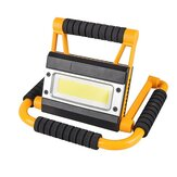 LED Portable Spotlight Zoeklicht Camping Light Oplaadbaar Handheld Work Light Power Waterproof Lantern
