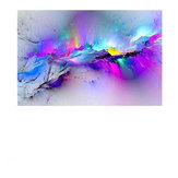 Abstract Clouds Colorful Canvas Painting Quadri Modern Wall per soggiorno Home Decor Paper