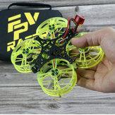 FPVRACER CINE X2 100mm F4 25A ESC 4S 2 İnç Whoop FPV Racing Drone Drone PNP w / 1302 5500KV Motor Tiny Rocket 25-350mW VTX Runcam Nano 2 FPV Kamera