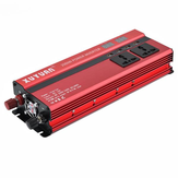 XUYUAN 2000W Car LED Power Inverter Converter DC 24V to AC 220V 4 Electronic USB Ports