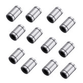 12Pcs/Pack 8x15x24mm LM8UU Linear Ball Bearing For 3D Printer