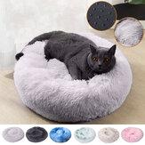 Cama de animal de pelúcia fofa Soft de 70 cm para cães e gatos Almofada de cama relaxante Soft Tapete Home