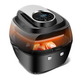 6L Air Fryer Healthy Cooker Low Fat Oil Free Kitchen Oven Timer 1350W