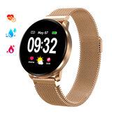 GOKOO CF08 ekran dotykowy bluetooth Monitor tętna Monitor snu Kobieta Health Tracker IP67 Wodoodporny zegarek dla kobiet Smart Watch
