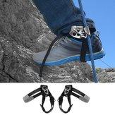 Buiten Bergbeklimmen Rotsklimmen Linker Voet Touw Ascender Riser Apparatuur Hulpmiddel voor apparaten