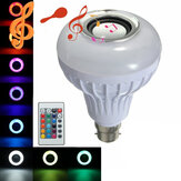 12W B22 LED RGB Bluetooth Luidsprekerlamp Draadloze Muziek Met Lichtlamp Met Afstandsbediening