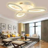 3 Heads Modern LED Ceiling Acrylic Home Lights Home Chandelier Lamp + Remote 3200-6500K
