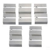 50 Stück Aluminium Kühlkörper Kühlkörper Für TO-220 L780xCV Drei Terminal Positive Spannungsregler