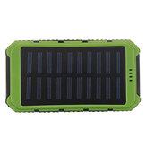 防水ソーラーLEDデュアルUSB電源充電器外付けバッテリ充電器ボックスケース