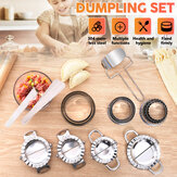 Dumpling Maker Stainless Steel Dough Press Pie Ravioli Mold Mould Baking Tool