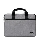 Baona BN-Z011 Laptop Bag Briefcase Storage Bag Men Women Handbags Notebook Carrying Case for 12 13  15.6 inch Notebook