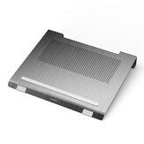 JIUSHARK JSNB-20 Metal Dizüstü Soğutma Standları Duo Fanları 6 ° Yükseklik Alüminyum Alaşımlı Laptop Soğutma Pedi Laptop için 13-17 inç