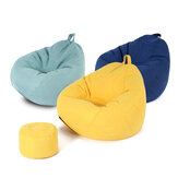 Lazy Sofa Bean Bag Lounger Chair Sofa Seat Living Room Furniture Beanbag Couch Tatami Living Room Bedroom Floor Seat
