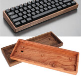 GH60 Solid Wooden Caso Custom Shell Base para 60% Mini Mecânico Gaming Keyboard