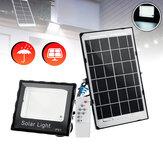300Wソーラーパワー567LEDリモートコントロールセキュリティフラッドライトスポットウォールランプ防水IP67
