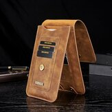 Homens Faux Leather Vintage Card Holder Cintura Bolsa Telefone Bolsa