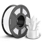 SUNLU 1KG PLA filamento luminoso 1,75 MM blanco / rojo / amarillo / azul / verde / púrpura filamento de alta resistencia para impresora 3D