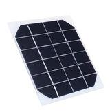 5Pcs 6V 350MA Monocristallin 2W Mini Panneau Solaire Panneau Photovoltaïque