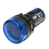 Machifit22mmAC20-500VNumérique AC Voltmètre Tension Jauge Indicateur D'affichage Numérique Bleu