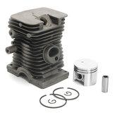 Negro 38mm cilindro pistón y anillo Motor kit para Stihl 018 MS180 MS 180 piezas de motosierra