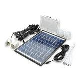 10W Système d'Éclairage Solaire à Batterie au Lithium