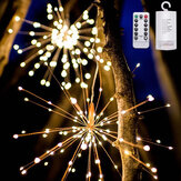 DIY Starburst Fairy Solar String lights for Garden Decoration Bouquet LED String Christmas Festive lights Christmas Decorations Clearance Christmas Lights