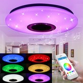 48W 102 LED RGBW Lampa sufitowa Starlight Music Light Bluetooth Salon Sypialnia Kontrola APP AC85-265V