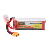 ZOP Power 14.8V 2200mAh 60C 4S Lipo Battery XT60 Plug for RC Quadcopter